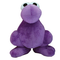 Purple Nerds Plush Character