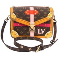 Louis Vuitton Brown and Pink Limited Edition Metis Handbag, 2018