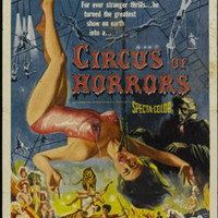 Circus Of Horror Vintage Movie Poster