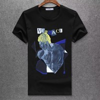 Versace Fashion Casual Shirt Top Tee-87