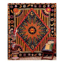 Indian Mandala Tapestry 145X200cm Wall Hanging Elephant Tapestries Home Decor Bedspread Table Cloth Blanket Boho Beach Towel