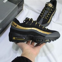 Air Max 95 Black/Gold Sneaker Shoe