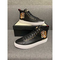 fashion Men Fashion Boots fashionable Casual leather Breathable Sneakers Running Shoes