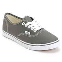 Vans Authentic Lo Pro Pewter Shoes (Womens)