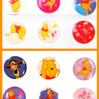 12x Winnie Bubble Home Button Stickers for iPhone iPad iPod (2Packs) iPhone6 5 4