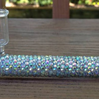 Pipe -- Clear Iridescent Steam Roller