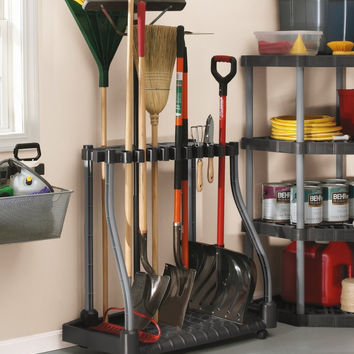 Rubbermaid Deluxe Tool Tower, Garage Storage, Holds 40 Tools