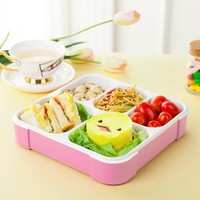 Lunch Boxs 5 Slots Practical Leak-Proof Bento Box Portable Lunchbox Good Quality Picnic Box 5 Compartments Food Container
