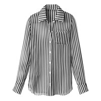 Altuzarra Candide Stripe Silk Top - Silk Blouse - ShopBAZAAR