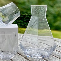 DECANTER + GLASSES (SOLD AS SET)