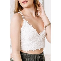 Stop And Smell The Roses Floral Lace Bralette | Colors