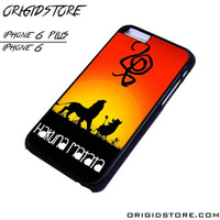 the lion king hakuna matata For iPhone Cases Phone Covers Phone Cases iPhone 6 Case iPhone 6 Plus Case Smartphone Case