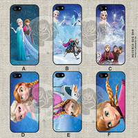 Disney frozen iPhone 5s case, iPhone 5C Case iPhone 5 case, iPhone 4 Case Samsung Galaxy S4 case, Galaxy S3 case, ifg-000188