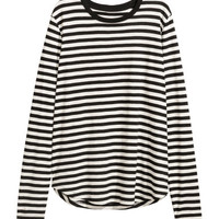 H&M Long-sleeved Jersey Top $14.99