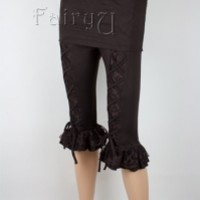 Lycra and lace leggings - Tinen