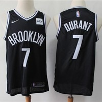2019-2020 Brooklyn Nets 7 Kevin Durant Black Basketball Jersey