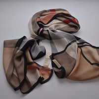 Burberry authentic 100% silk scarf