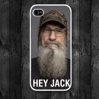 Hey Jack! I'm Si Robertson : Case For Iphone 4/4s ,5 / Samsung S2,3,4
