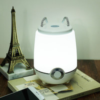 Colorful Bright Creative Multi-color Lamp Mini Outdoors Lights Bluetooth Music Bedside Lamp [6283388678]