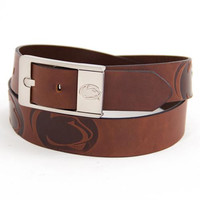 Penn State Nittany Lions NCAA Brandish Leather Belt Size 36