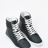 Faux Leather High-Tops