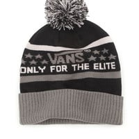 Vans Elite Beanie - Mens Hats - Black - One