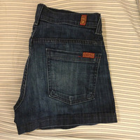 Seven For All Mankind Jean Shorts (7 For All Mankind)