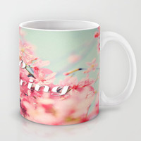 Hello Spring Mug by Sweet Colors Gallery
