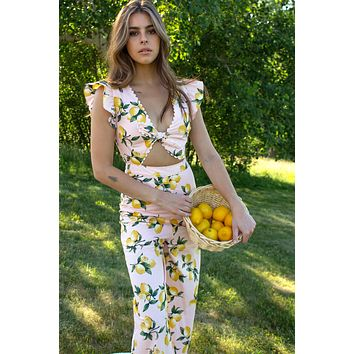 Gardens of Sicily Jumpsuit
