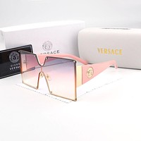 Versace men's and women's large frame polarized sunglasses