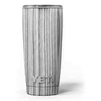Textured Gray Dyed Surface - Skin Decal Vinyl Wrap Kit compatible with the Yeti Rambler Cooler Tumbler Cups