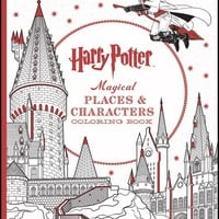 Harry Potter Magical Places & Characters CLR