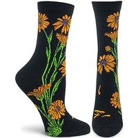 Apothecary Florals - Marigold Sock