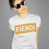 Forever Strung The Fiendi TeeHeather