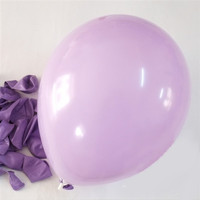 Latex Solid Balloons, 12-inch, 12-Piece, Lavender