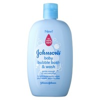 Johnson's Kids' Baby Bubble Bath & Wash 15-oz.