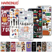 HAMEINUO friends tv Cover phone Case for huawei Ascend P7 P8 P9 P10 P20 lite plus G8 G7 2017 mate 8