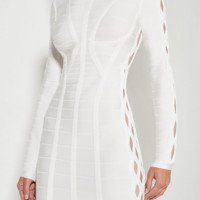 Kane White Cut Out Dress