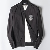 Trendsetter Chrome Hearts Women Man Fashion Casual Jacket Loose Coat