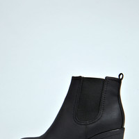 Tia Chunky Cleated Heel Chelsea Boot