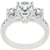 Elizabeth Engagement Ring, size : 10