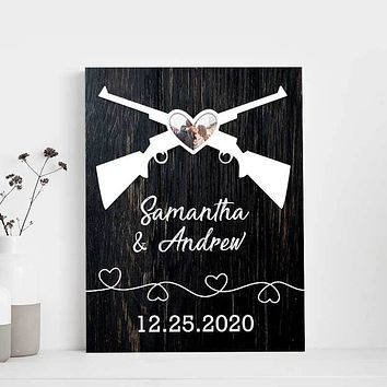I Vow to  Always Love You Custom Canvas Set