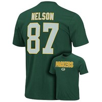 Green Bay Packers Jordy Nelson Aggressive Speed Tee - Men