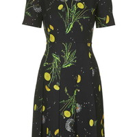 Windermere Fitted Dress by Unique - Topshop