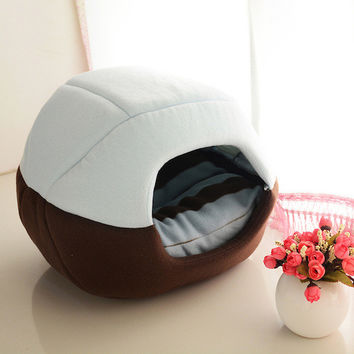 Foldable Soft and Warm Pet Bed