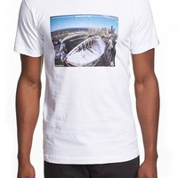 Men's Casual Industrees 'Hawk's Eye View' Graphic T-Shirt,