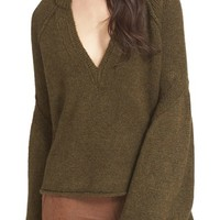 Free People Lovely Lines Bell Sleeve Sweater   Nordstrom