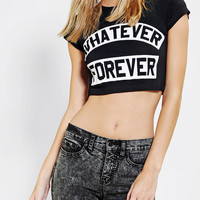 Jac Vanek Whatever Forever Cropped Tee - Urban Outfitters