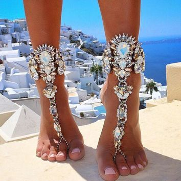 One Piece Long  Anklets Bracelet
