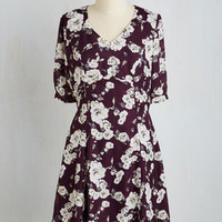 Mid-length 3 A-line Cheery at the Theater Dress